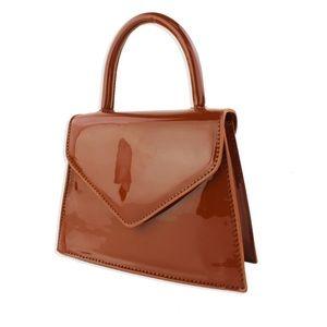 PAPYRUS, Brick Structured Handbag, NWT.